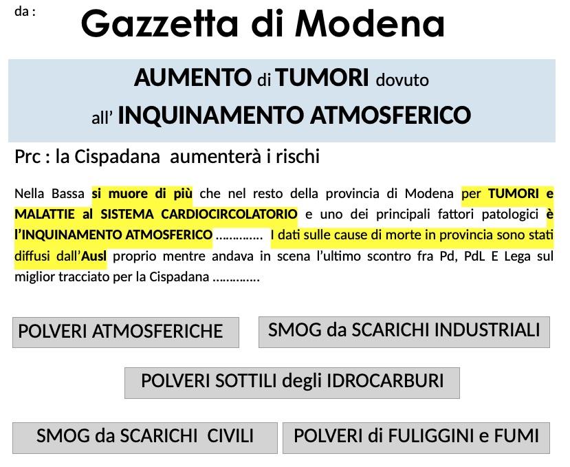 Gazzetta di MODENA- ECOSYSTEMI